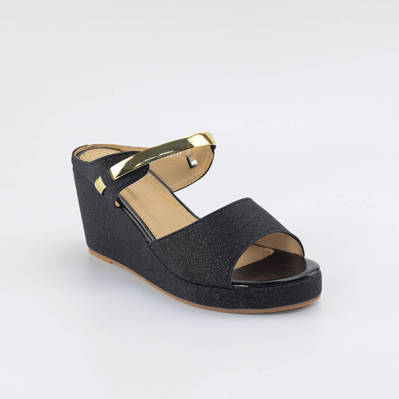 Maeve Wedges in Black