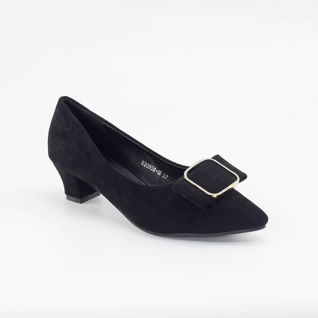 Charlotte Pointed Heels in Black