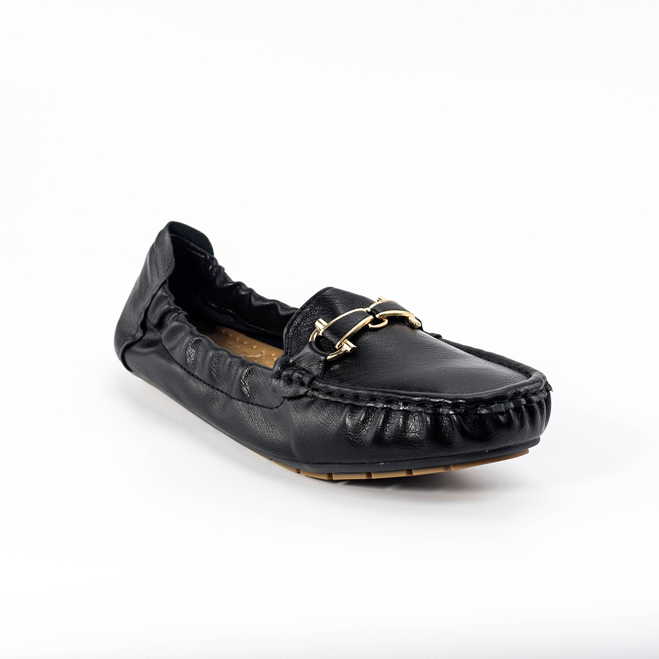 Anna Sash Loafers in Black